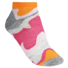 SmartWool Tranquil Sands Socks - Merino Wool, Micro Mini (For Women) in Tangerine - 2nds
