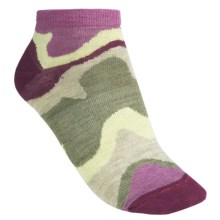 SmartWool Tranquil Sands Socks - Merino Wool, Micro Mini (For Women) in Violet - 2nds