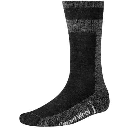 SmartWool Traverser Socks - Merino Wool, Crew (For Men) in Charcoal Marl - 2nds