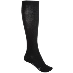 SmartWool Trellis Knee-High Socks - Merino Wool, Over the Calf (For Women) in Black