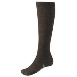 SmartWool Trellis Knee-High Socks - Merino Wool, Over the Calf (For Women) in Oatmeal Heather