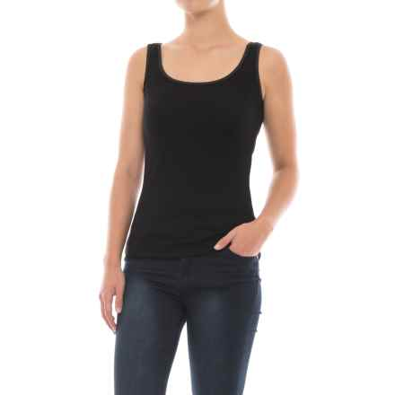 SmartWool Turnabout Tank Top - Merino Wool (For Women) in Black - Closeouts