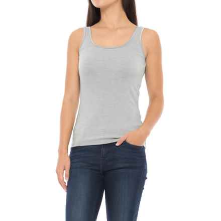 SmartWool Turnabout Tank Top - Merino Wool (For Women) in Light Gray - Closeouts