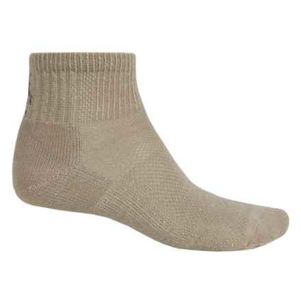 SmartWool Ultralight Hiking Socks - Merino Wool, Ankle (For Men and Women) in Oatmeal - Closeouts