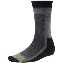SmartWool Urban Hiker Socks - Merino Wool, Crew (For Men) in Black - 2nds