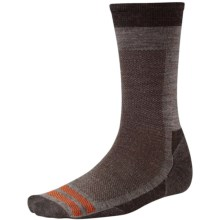 SmartWool Urban Hiker Socks - Merino Wool, Crew (For Men) in Taupe - 2nds