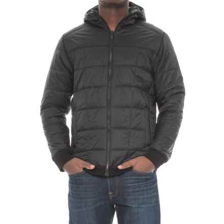 SmartWool Urban Upslope Reversible Jacket - Insulated, Merino Wool (For Men) in Black - Closeouts