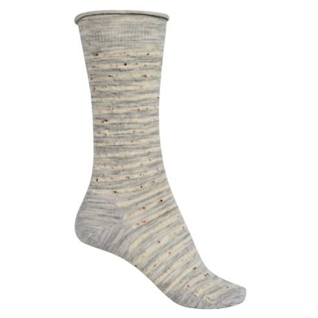 SmartWool Vista View Socks - Merino Wool, Mid Calf (For Women) in Ash Heather
