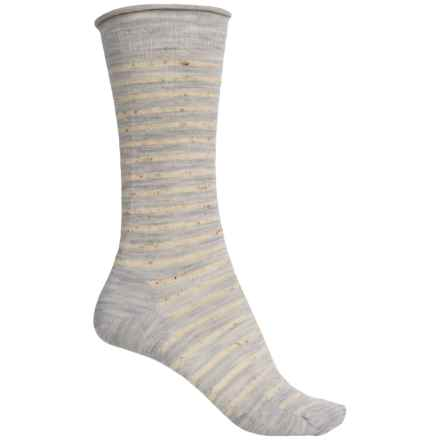 SmartWool Vista View Socks - Merino Wool, Mid Calf (For Women) in Ash Heather - 2nds