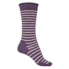 SmartWool Vista View Socks - Merino Wool, Mid Calf (For Women) in Desert Purple Heather - Closeouts