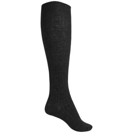 SmartWool Wheat Fields Knee-High Socks - Merino Wool, Over the Calf (For Women) in Charcoal Heather - Closeouts