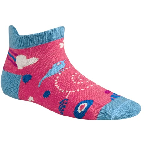 SmartWool Whimsy Charm Micro Socks - Merino Wool (For Kids) in Liberty