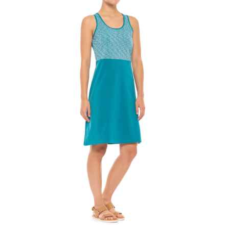 SmartWool Willow Lake Dress - Merino Wool, Sleeveless (For Women) in Glacial Blue - Closeouts