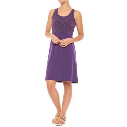 SmartWool Willow Lake Dress - Merino Wool, Sleeveless (For Women) in Mountain Purple - Closeouts