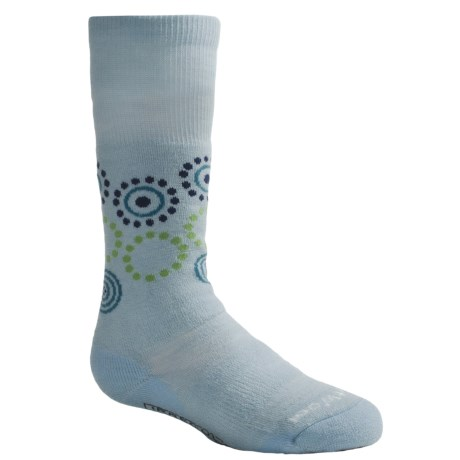 SmartWool Wintersport Dot Socks - Merino Wool (For Kids and Youth) in Blueprint