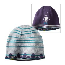 SmartWool Wintersport Lincoln Loop Beanie - Reversible, Merino Wool (For Little and Big Kids) in Desert Purple - Closeouts