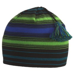 SmartWool Wintersport Stripe Beanie Hat - Merino Wool (For Kids) in Lavender