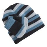SmartWool Wintersport Striped Hat and Mitten Set - Merino Wool (For Infants)