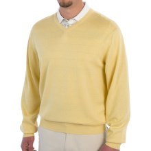 Smith & Tweed Cotton-Cashmere-Silk Sweater (For Men) in Yellow - Closeouts