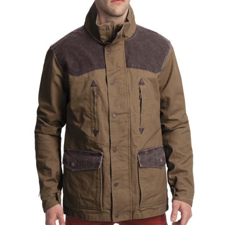 Smith & Wesson Range Jacket - Cotton Canvas (For Men) in Lager