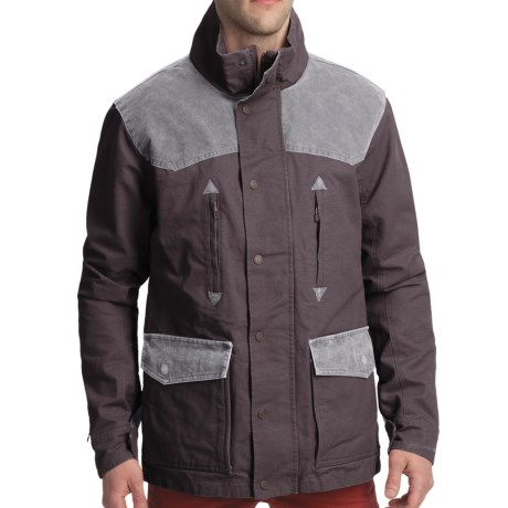Smith & Wesson Range Jacket - Cotton Canvas (For Men) in Walnut