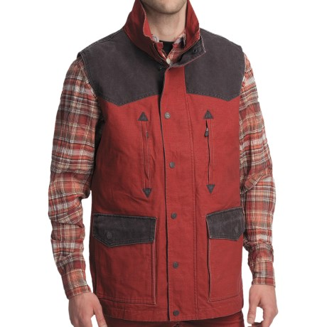 Smith & Wesson Range Vest - Cotton Canvas (For Men) in Lager