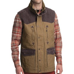 Smith & Wesson Range Vest - Cotton Canvas (For Men) in Walnut