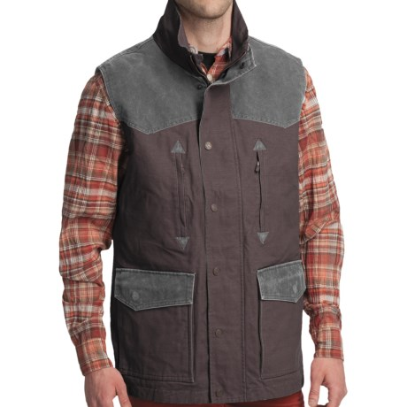 Smith & Wesson Range Vest - Cotton Canvas (For Men) in Walnut