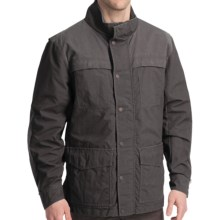 Smith & Wesson Shooting Jacket - Nylon Canvas (For Men) in Black - Closeouts