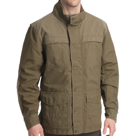 Smith & Wesson Shooting Jacket - Nylon Canvas (For Men) in Olive Green