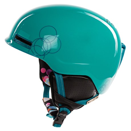 Smith Optics Allure Snowsport Helmet (For Women) in Teal Night Out