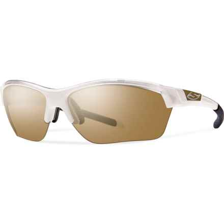 Smith Optics Approach Max Sunglasses - Extra Lenses (For Men and Women) in Pearl/Bronze Mirror - Closeouts
