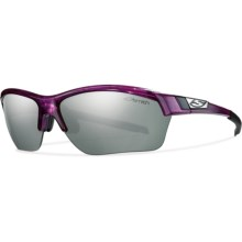 Smith Optics Approach Max Sunglasses - Interchangeable Lenses (For Men and Women) in Violet/Platinum Mirror - Closeouts