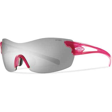 Smith Optics Asana PivLock Sunglasses - Extra Lenses (For Women) in Fuchsia/Platinum - Closeouts
