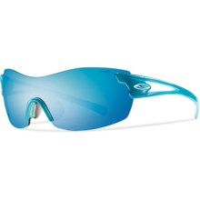 Smith Optics Asana PivLock Sunglasses - Interchangeable Lenses (For Women) in Aqua/Blue Sol-X - Closeouts