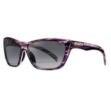 Smith Optics Aura Sunglasses (For Women) in Violet Savanna/Grey Gradient - Closeouts