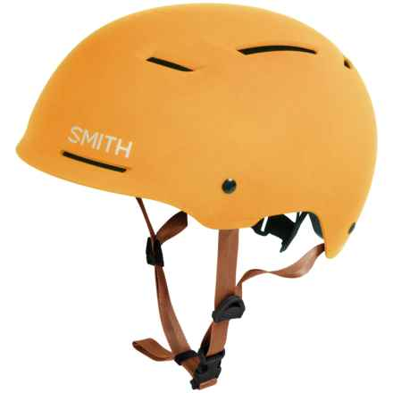 Smith Optics Axle Bike Helmet in Matte Mustard - Closeouts