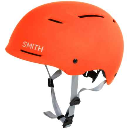 Smith Optics Axle Bike Helmet in Matte Neon Orange - Closeouts