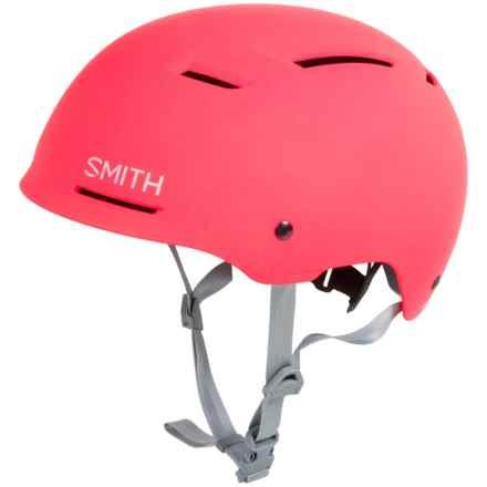 Smith Optics Axle Bike Helmet in Matte Neon Pink - Closeouts
