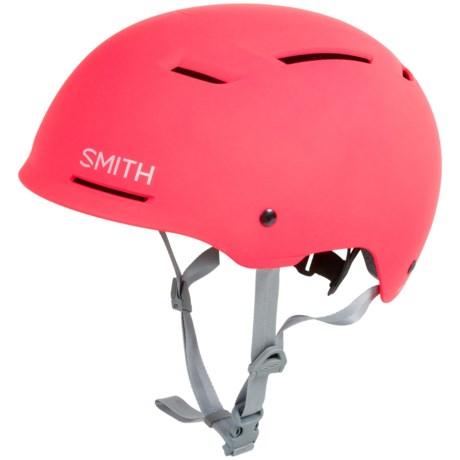 Smith Optics Axle Bike Helmet in Matte Neon Pink