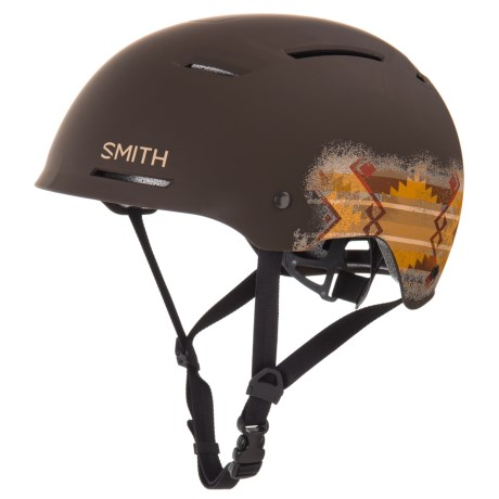 Smith Optics Axle Bike Helmet in Matte Root/Lasso