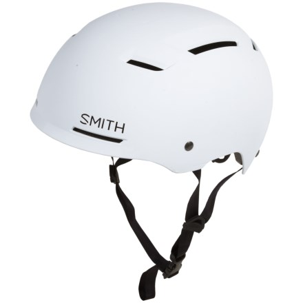 2db9c25200 Smith Optics Axle Bike Helmet - MIPS in Matte White - Closeouts