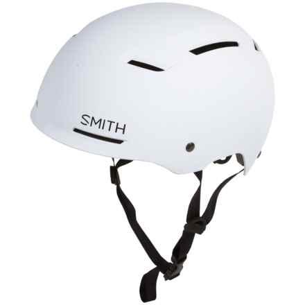 Smith Optics Axle Bike Helmet - MIPS in Matte White - Closeouts