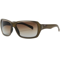 Smith Optics Brooklyn Sunglasses - Polarized (For Women) in Matte Desert/ Brown Gradient
