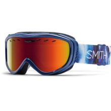 Smith Optics Cadence Ski Goggles (For Women) in Crystalline/Red Sensor - Closeouts