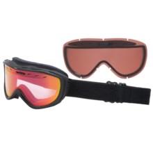 Smith Optics Cadence Snowsport Goggles in Black Danger/Red Sensor - Closeouts