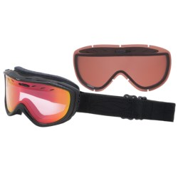 Smith Optics Cadence Snowsport Goggles in Black Danger/Red Sensor