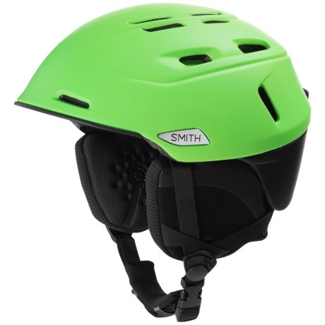 Smith Optics Camber Ski Helmet (For Men) in Matte Reactor/Black