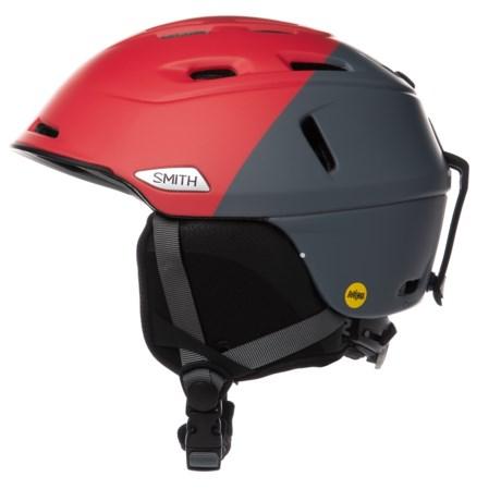 Smith Optics Camber Ski Helmet - MIPS (For Men) in Matte Fire Split