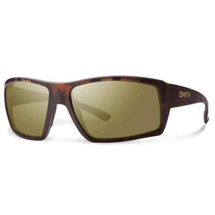 Smith Optics Challis Sunglasses - Polarized ChromaPop® Lenses in Matte Tortoise/Bronze - Overstock